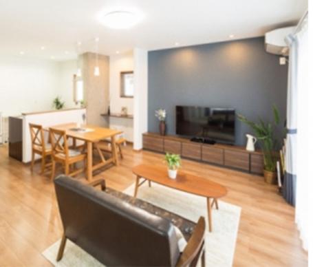 ☆家族の居住と客間のあり方を考えた、子育て世代に向ける大人部屋な空間づくりの家