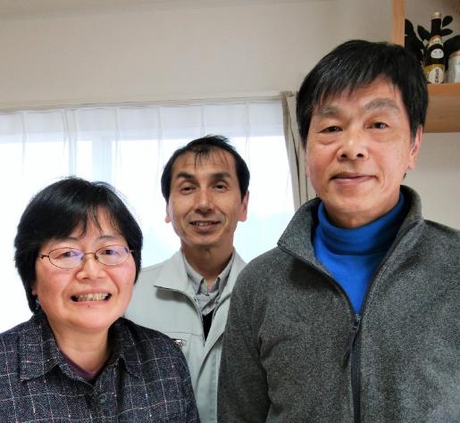 「地元で良い家を建てている会社さんだ」と、片山さん一本で決めました!