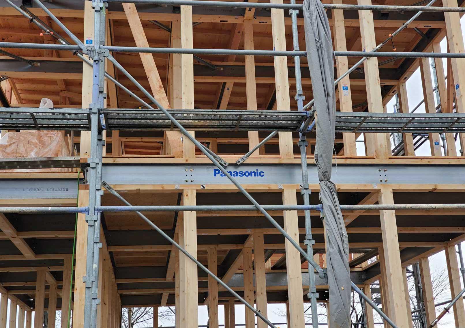 耐震等級3の建物を実現する鉄と木の融合梁テクノビーム